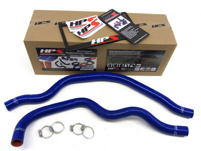 HPS Honda 00-09 S2000 AP1 AP2 High Temp Reinforced Silicone Radiator Hose Kit Coolant - Blue
