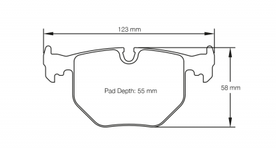 Pagid 2685 Pair of RSL29 Compound Brake Pads