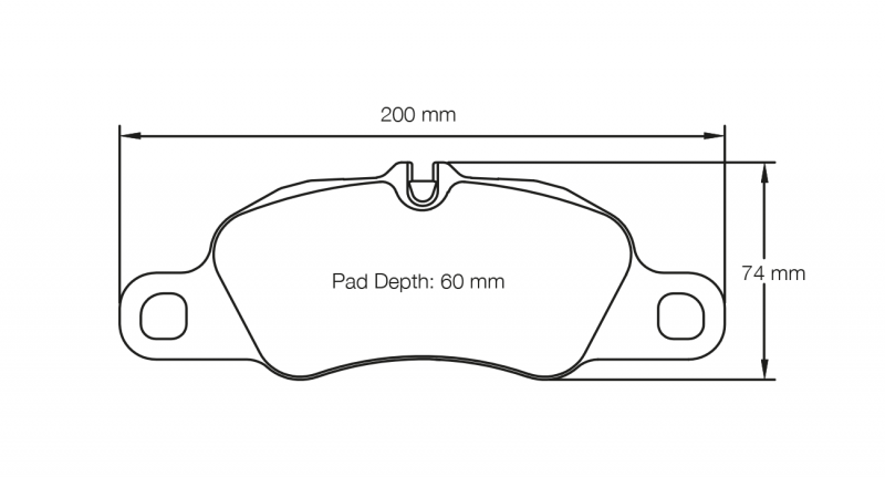 Pagid 8074 Pair of RSL29 Compound Brake Pads