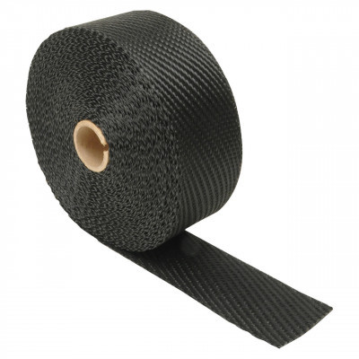 "Design Engineering Black Titanium Exhaust Manifold Wrap 2"" x 1/16"" x 25'"