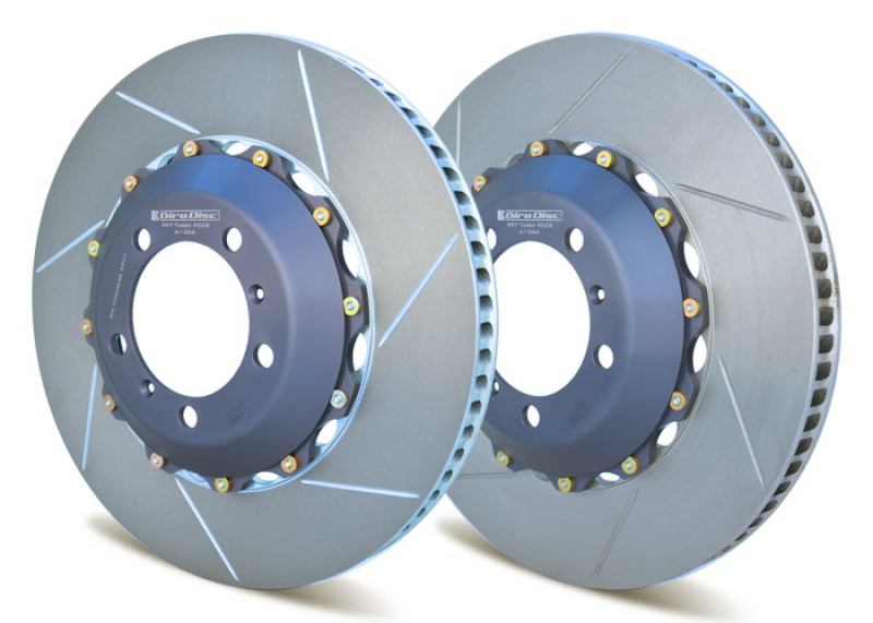 Girodisc Front Rotor Ring Replacements For Porsche GT3 with Girodisc Iron Conversion