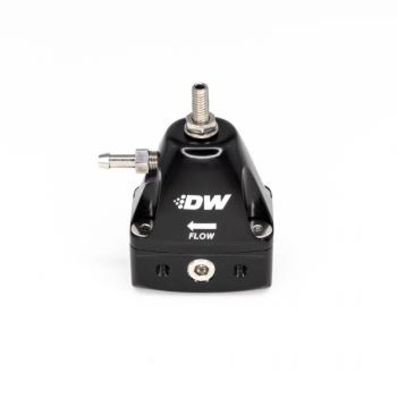 Deatschwerks Inline Fuel Pressure Regulator - Black