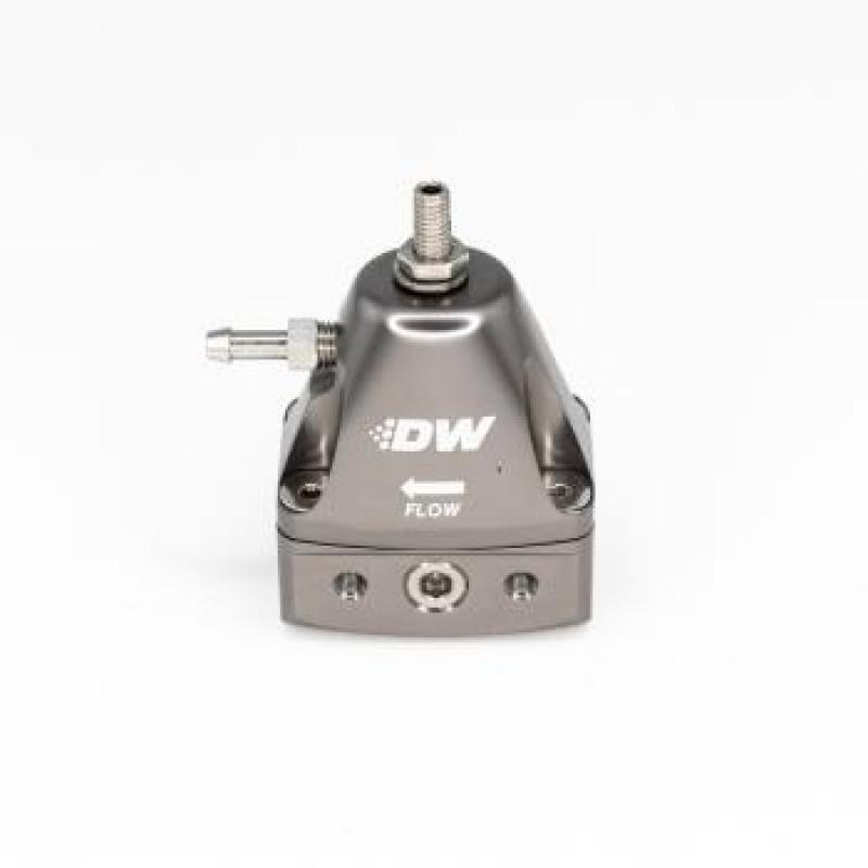 Deatschwerks Inline Fuel Pressure Regulator - Titanium