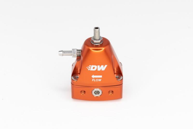 Deatschwerks Inline Fuel Pressure Regulator - Orange