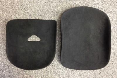 Tillett B5 seat pads 2-piece set