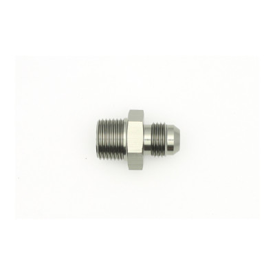 Deatschwerks 6AN Male Flare to 3/8-inch Male NPT Adapter