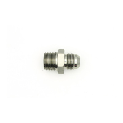Deatschwerks 8AN Male Flare to 1/2-inch Male NPT Adapter