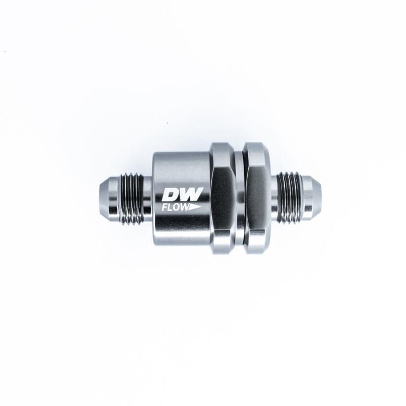 Deatschwerks 6AN to 6AN Male Flare One Way Check Valve