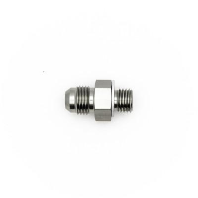 Deatschwerks 6AN Male Flare to M12 X 1.5 Male Metric Adapter