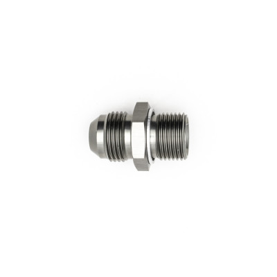 Deatschwerks 8AN Male Flare to M18 X 1.5 Male Metric Adapter
