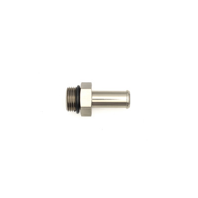 Deatschwerks 8AN ORB Male to 1/2-inch Male Triple Barb Fitting