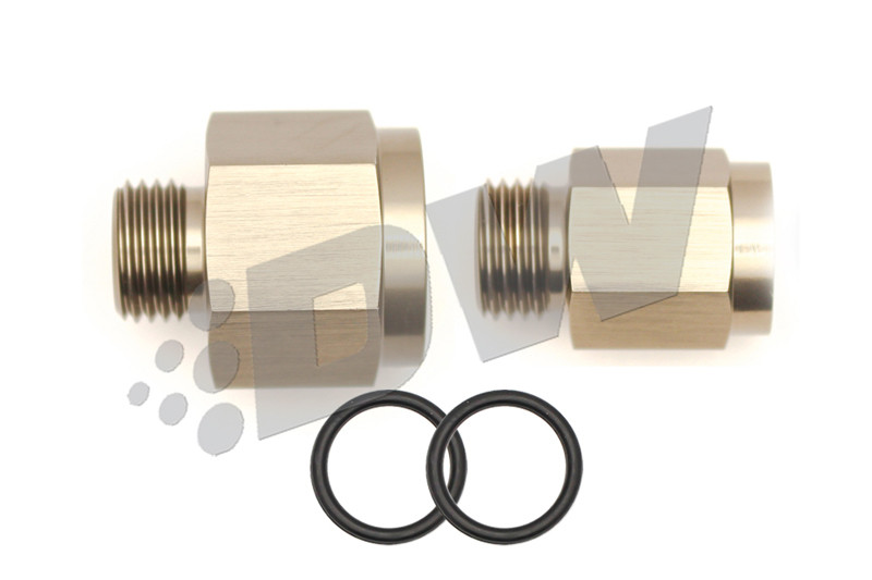 Deatschwerks 250iL 6ORB Male to Metric Female Plumbing Kit to Replace Bosch 044