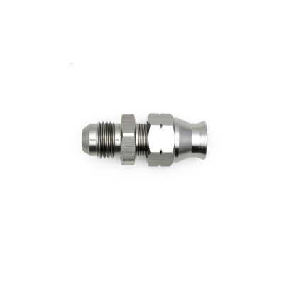 """Deatschwerks 6AN Male Flare to 5/16"""" Hardline Compression Adapter"""
