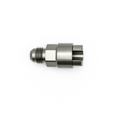 Deatschwerks 6AN Male Flare to 5/16 Female EFI Quick Connect Adapter
