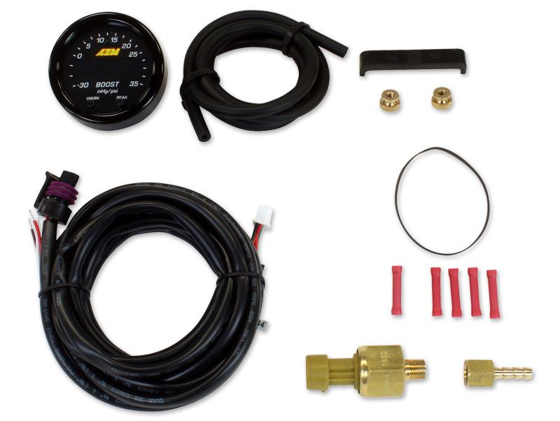 AEM X-Series Boost Pressure Gauge Kit