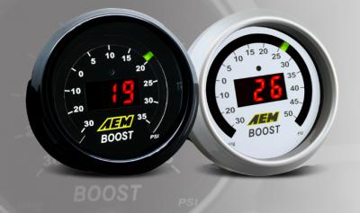 AEM Boost Pressure Gauge -30 ~ 35 PSI