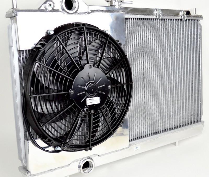 CSF Lancer EVO (7/8/9) Aluminum Radiator w/ Fan and Shroud