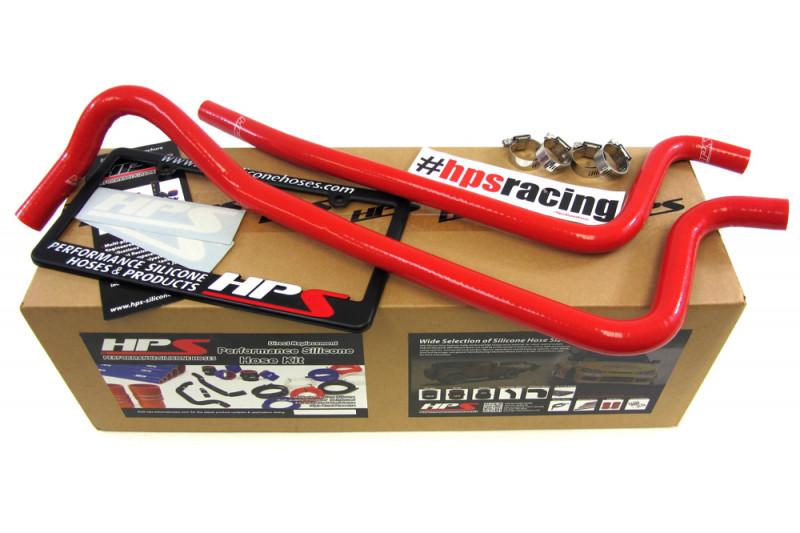 HPS 02 - 06 JEEP Wrangler TJ 4.0L LHD Hose Kit - Red