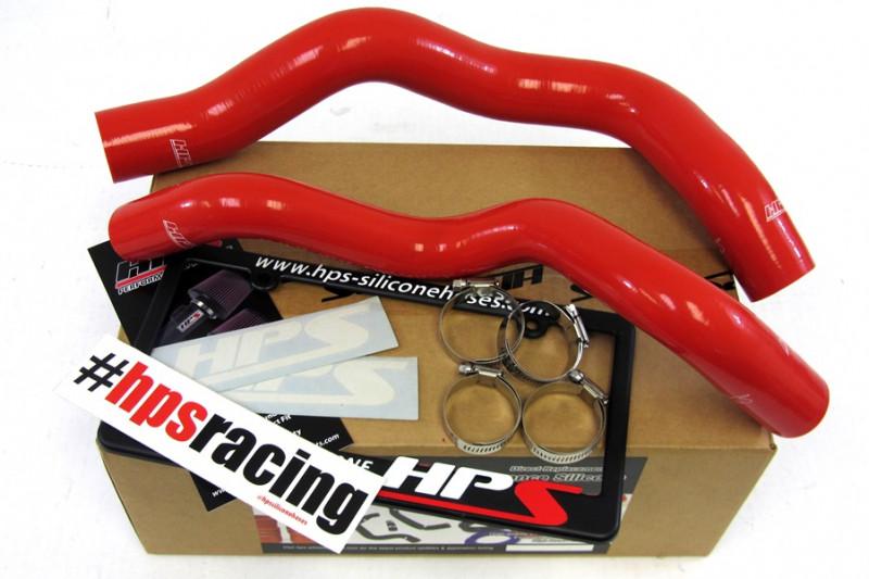 HPS 94 + 95 Ford Mustang Base V6 3.8L Hose Kit  - Red