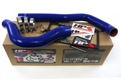 HPS 99 - 02 Dodge Ram Pickup 5.9L Diesel Hose Kit - Blue