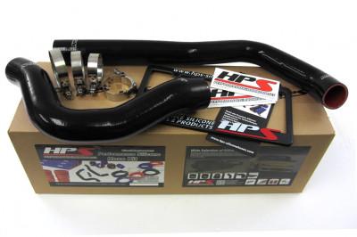 HPS 99 - 02 Dodge Ram Pickup 5.9L Diesel Hose Kit - Black