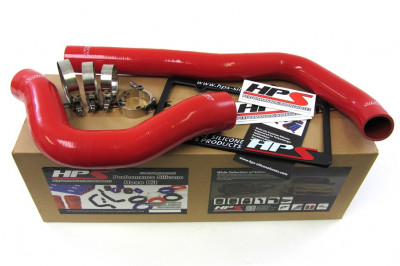 HPS 99 - 02 Dodge Ram Pickup 5.9L Diesel Hose Kit - Red