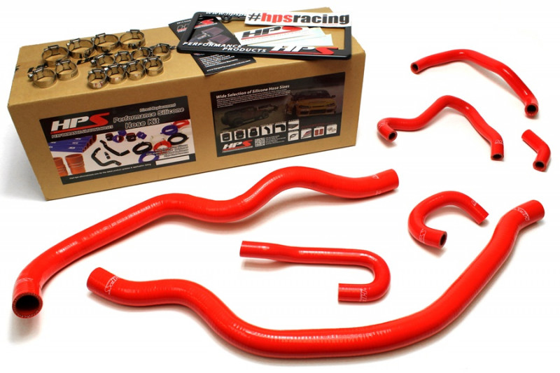 HPS Honda 00-05 S2000 AP1 AP2 Hose Kit - Red