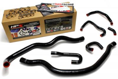 HPS Honda 00-05 S2000 AP1 AP2 Hose Kit - Black