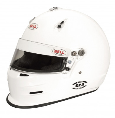 Bell GP3 Racing Helmet - White