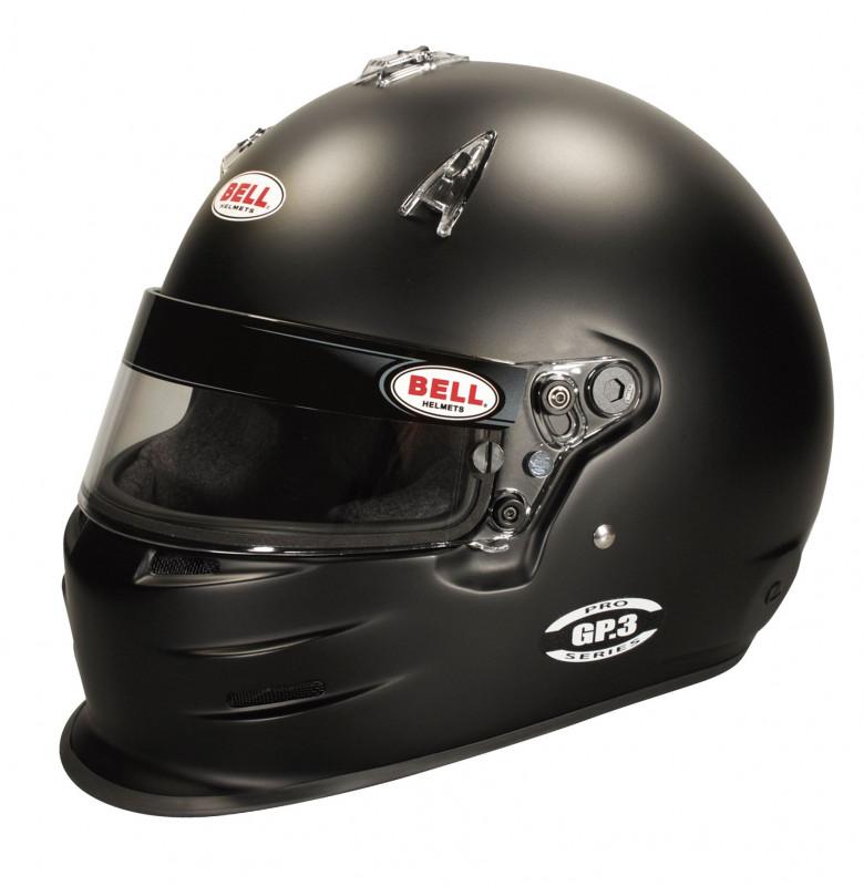 Bell GP3 Racing Helmet - Black