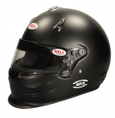 Bell GP3 Racing Helmet - Black