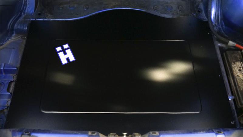 HARD Motorsport BMW E36 Trunk Floor Filler Panel