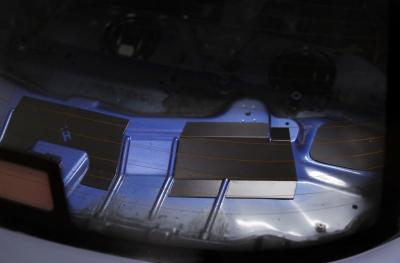 HARD Motorsport BMW E36 Coupe Rear Deck Panel Kit - After
