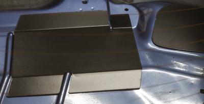 HARD Motorsport BMW E36 Coupe Rear Deck Panel Kit - installed