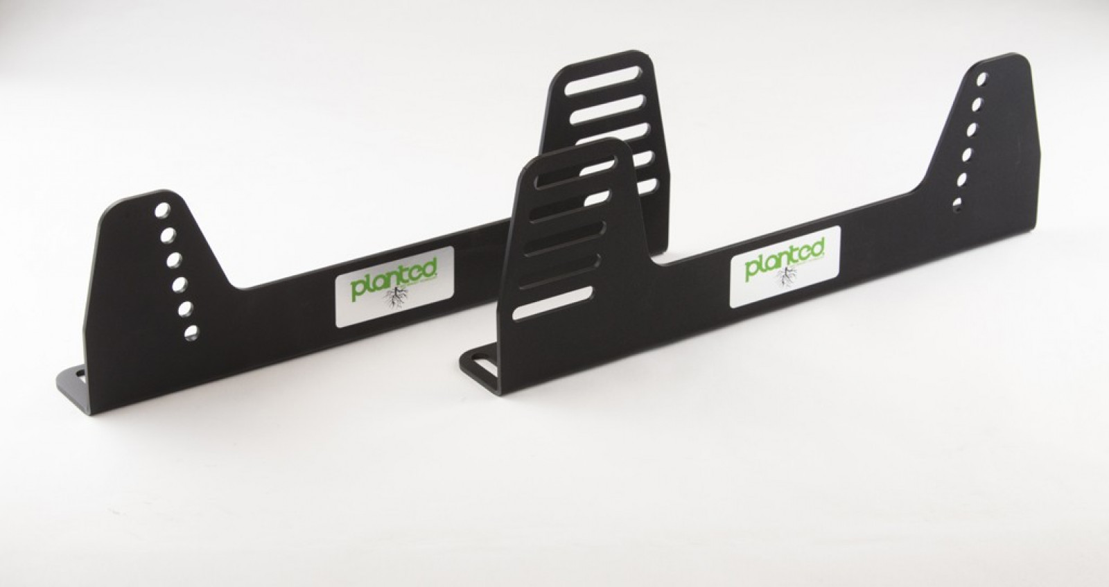 Black Steel Planted Universal Offset Seat Side Mount to Bottom Bracket