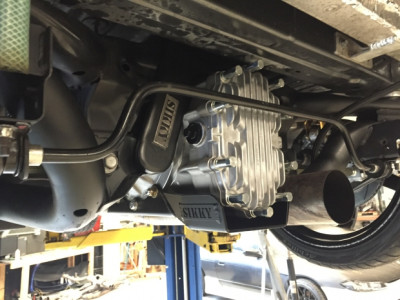 Sikky Winters Differential Installed in Car