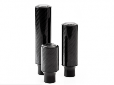 Nuke Carbon Fiber Shift Knob - Gloss Finish