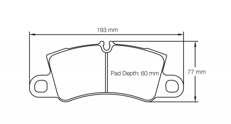 Pagid 4580 RSC1 Front Brake Pads