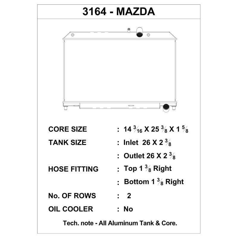 CSF 04-08 Mazda RX-8