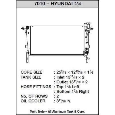 CSF Hyundai Genesis radiator