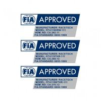 Racetech 4119 FIA approvals