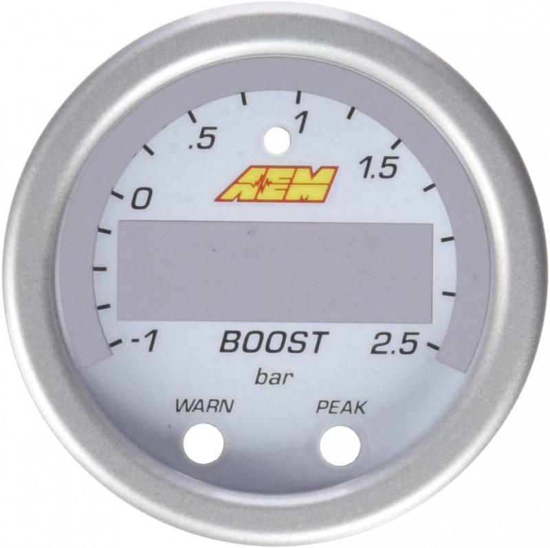 AEM 30-0306-ACC X-Series Boost Pressure Gauge