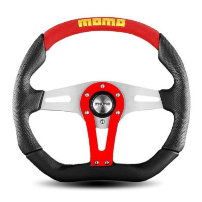 MOMO Trek Steering Wheel Red