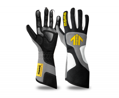 MOMO Xtreme Pro glove silver