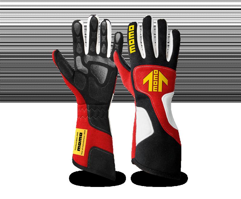 MOMO Xtreme Pro glove red