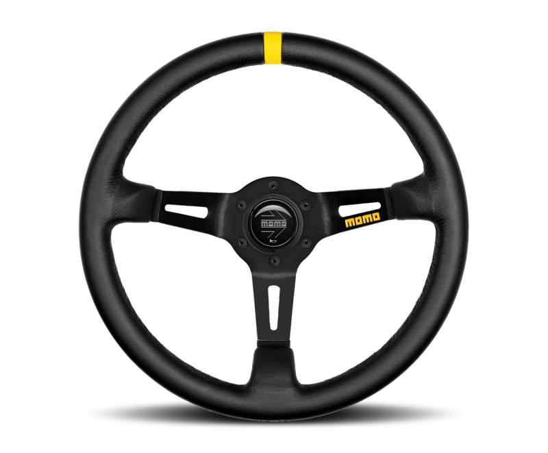 MOMO MOD. 08 steering wheel leather