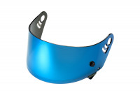 HJC helmet shield blue