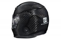 HJC HX-10 III carbon fiber helmet rear