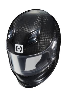 HJC HX-10 III carbon fiber helmet top
