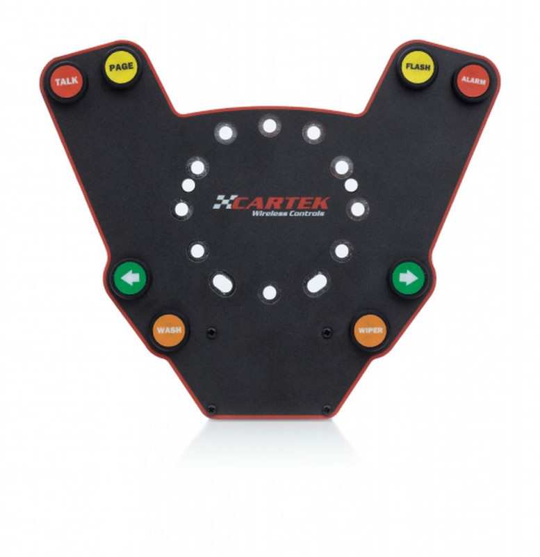 Cartek wireless steering wheel control plate
